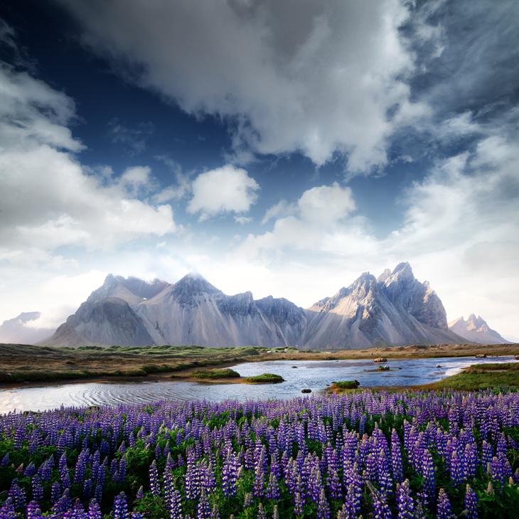 Stokksnes mountains