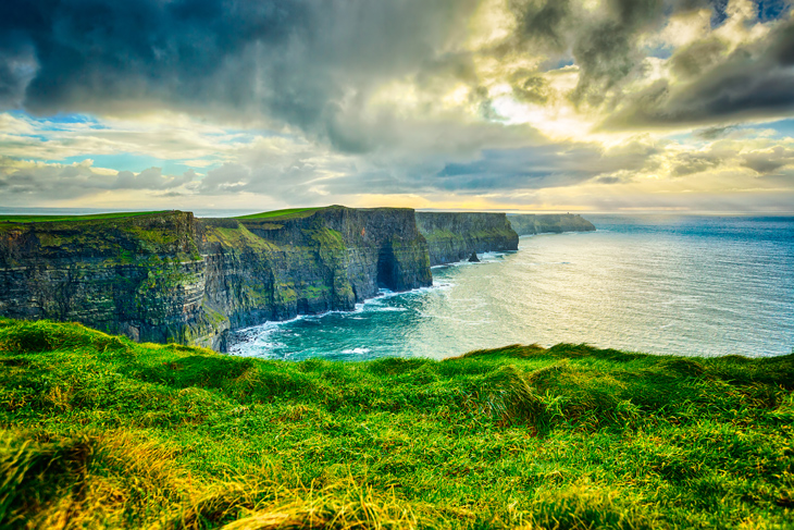 Cliffs of Moher in Winter